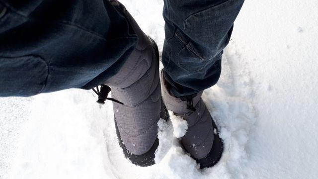 ワークマンフィールドコア防寒ブーツケベック