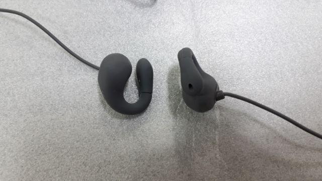 イヤホン 開放型 通気ヘッドフォン Bluetooth V4.2 デュアルリ スニング マイク付 2018年モデル (Gray)
