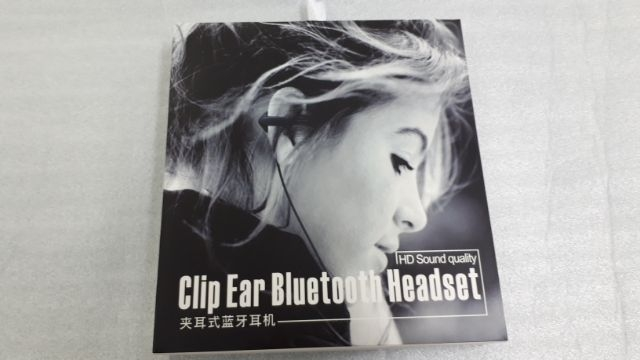 Clip Ear Bluetooth Headset