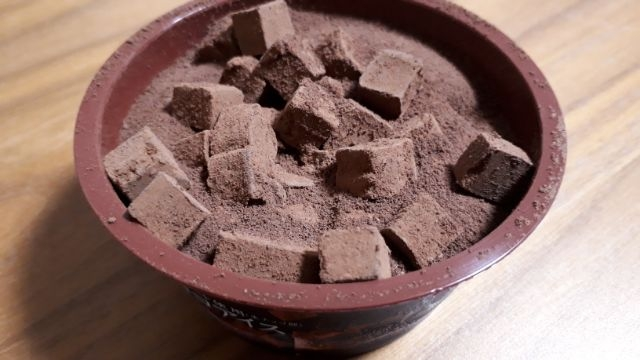 セブンイレブン生チョコアイス